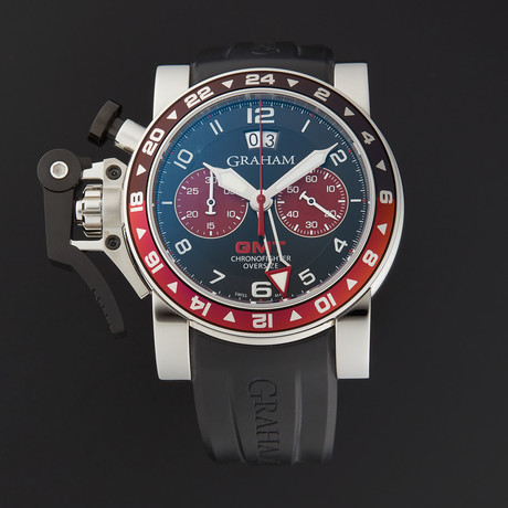 Graham Chronofighter Oversize GMT Automatic // 20VGS.B20A.K10S // Store Display