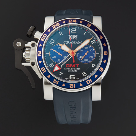 Graham Chronofighter Oversize GMT Automatic // 20VGS.B26A.K41S // Store Display