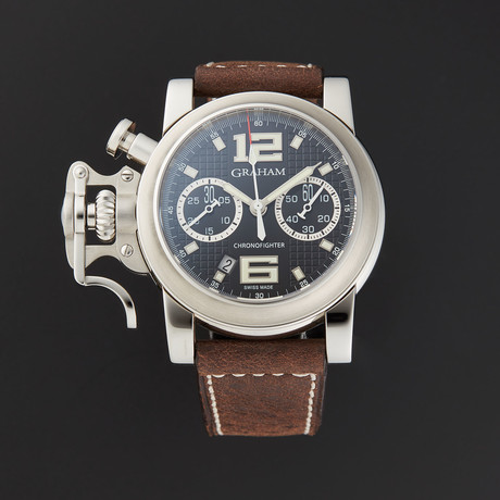 Graham Chronofighter R.A.C . Black Shock Automatic // 2CRBS.B03A.L81BD // Store Display