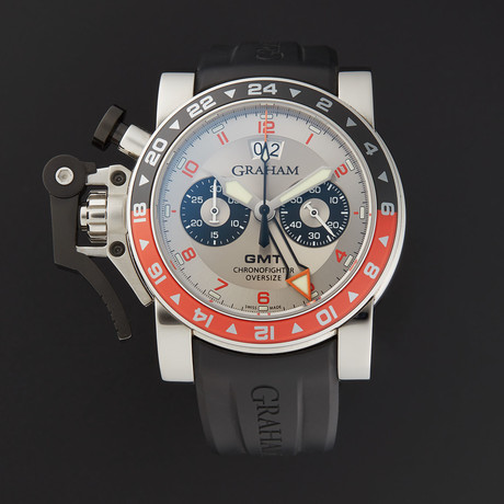 Graham Chronofighter Oversize GMT Timer Automatic // 2OVASGMT.S01A.K10B // Store Display