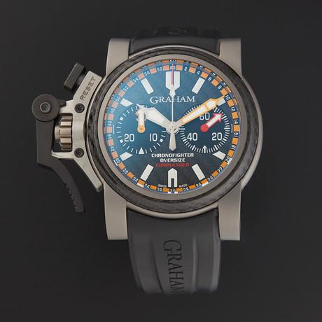 Graham Chronofighter Oversize Commando Automatic // 2OVATCO.B01A.K10B // Store Display