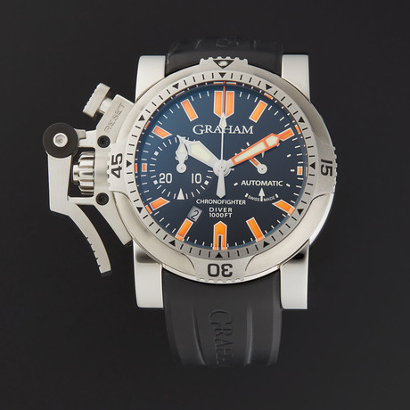 Graham Chronofighter Oversize Diver Automatic // 2OVES.B02B.K10B // Store Display