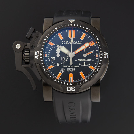 Graham Chronofighter Oversize Diver Deep Sea Automatic // 2OVEZ.B02B.K10B // Store Display