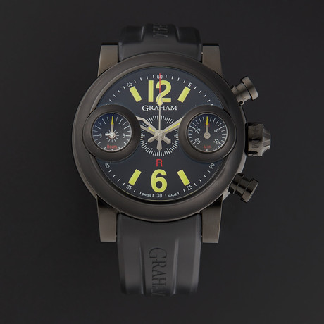 Graham Swordfish Black Night Chronograph Automatic // 2SWASB.B19A.K06B // Store Display