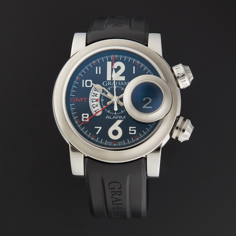 Graham Swordfish GMT Black Grillo Automatic // 2SWASGMT.B01A.K06B // Store Display