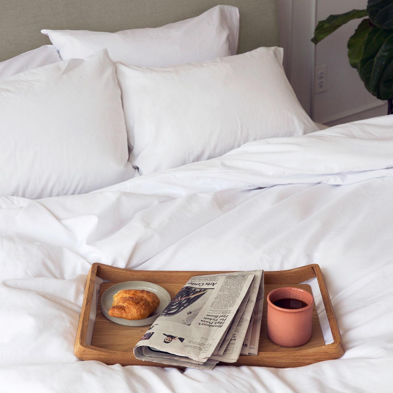 American Cotton Duvet Sheet Set // White (Twin) - Wright
