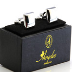 Exclusive Cufflinks + Gift Box // Pure Silver Squares
