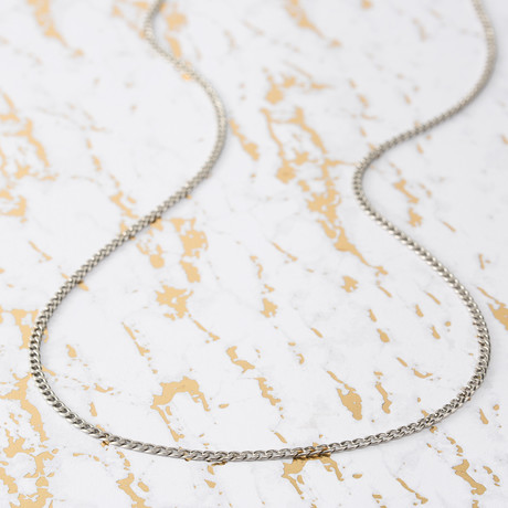 Brooklyn Exchange Men's Necklace // Curb Chain