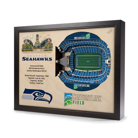 Seattle Seahawks // Century Link Field (5-Layer)