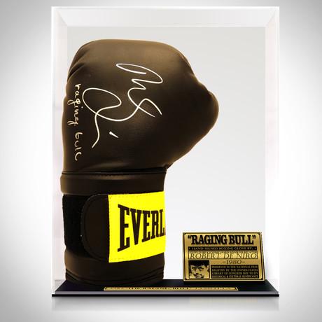 Raging Bull // Robert De Niro Signed Glove // Museum Display