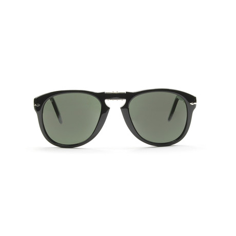 714 Iconic Folding Men's Sunglasses // Black // 54mm