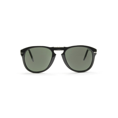 Iconic Folding Sunglasses // Black // 52mm
