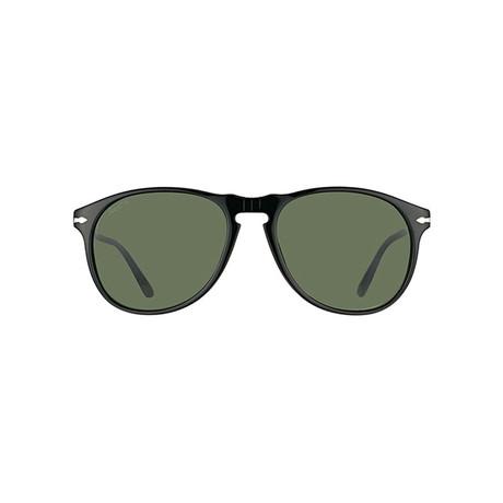 Persol Iconic Polarized Men's Sunglasses // Black