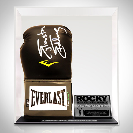Rocky // Sylvester Stallone Signed Glove // Museum Display
