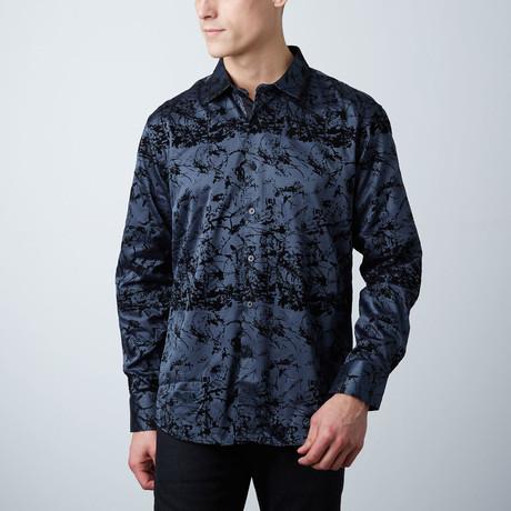 Premium Style Slim Button Down Shirt // Charcoal