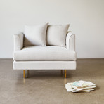 Margot Chair (Cambie Parchment)