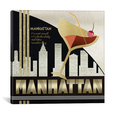 "The Original Manhattan (18""W x 18""H x 0.75""D)"