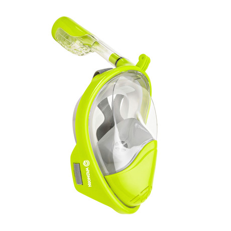 Seaview 180° Full Face Snorkel Mask // Electric // F