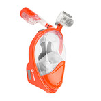 Seaview 180° Full Face Snorkel Mask // Sunset // F (L/XL)