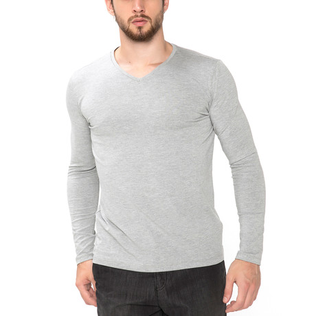 Moselle T-Shirt // Grey