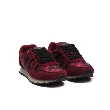 Falu Lace-Up Sneaker // Bordeaux