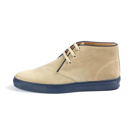 Lattari Suede Ankle Boot // Sand