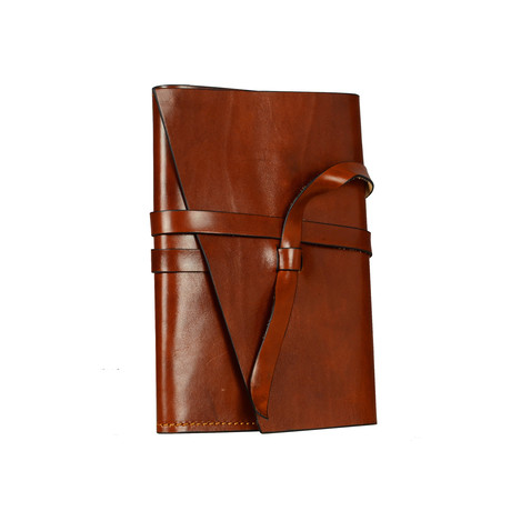 P.S. I Love You // Leather Journal (Brown)