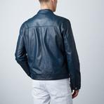 Modern Moto Jacket // Blue (S)