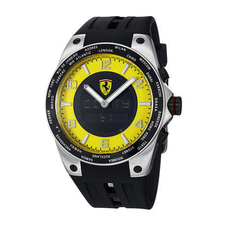 Ferrari World-Time Quartz // FE-05-ACC-YW
