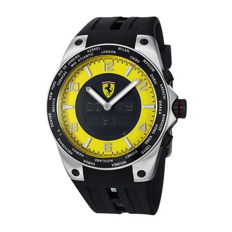 Ferrari World-Time Quartz // FE-05-ACC-YW // Store Display