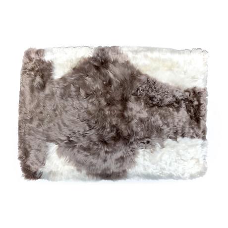 Long Alpaca Suri Cushion Purum (Espresso)