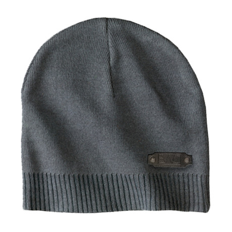 The Perfect Fit Cotton Beanie // Graphite