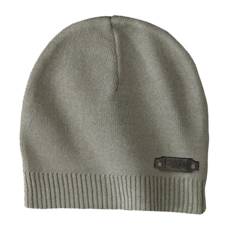 The Perfect Fit Cotton Beanie // Olive
