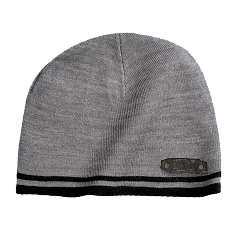 c439992720c 31258f8385cec8bc384682da60ecf0e1 medium · Fine Knit Skull Cap    Grey +  Black