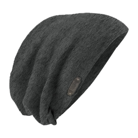 The Perfect Fit Slouch Beanie // Charcoal