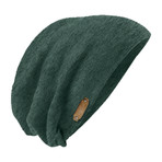 The Perfect Fit Slouch Beanie // Forest Green