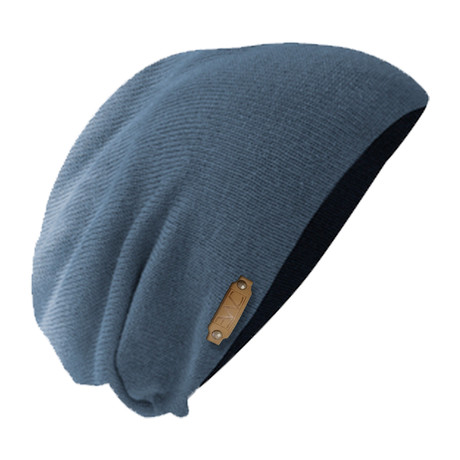 The Perfect Fit Slouch Beanie // Dip Navy