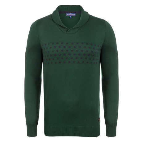 Jerold Jersey Pullover // Green