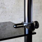 Mofo Pole + 1 Shelf (Black)
