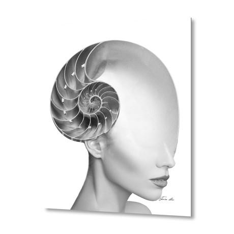 Shell Girl // Aluminum Print