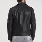 Jayce Leather Jacket // Black (L)