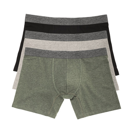 Boxer Brief // Multicolor // Pack of 3 (S)
