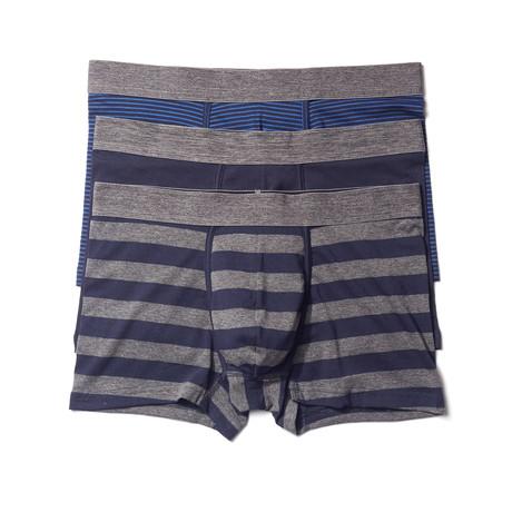 Trunk // Blue Stripe // Pack of 3 (S)