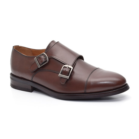 Vicarage Derby Leather Shoe // Brown