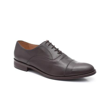 Carlisle Oxford Leather Shoe // Brown