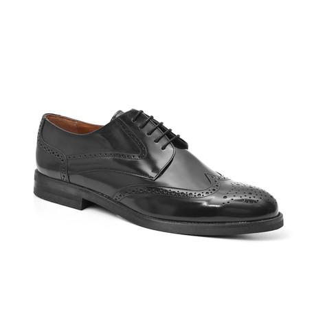 Guildhouse Derby Leather Shoe // Black