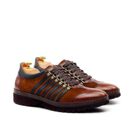 Multi Textured Sneaker // Brown (US: 10)