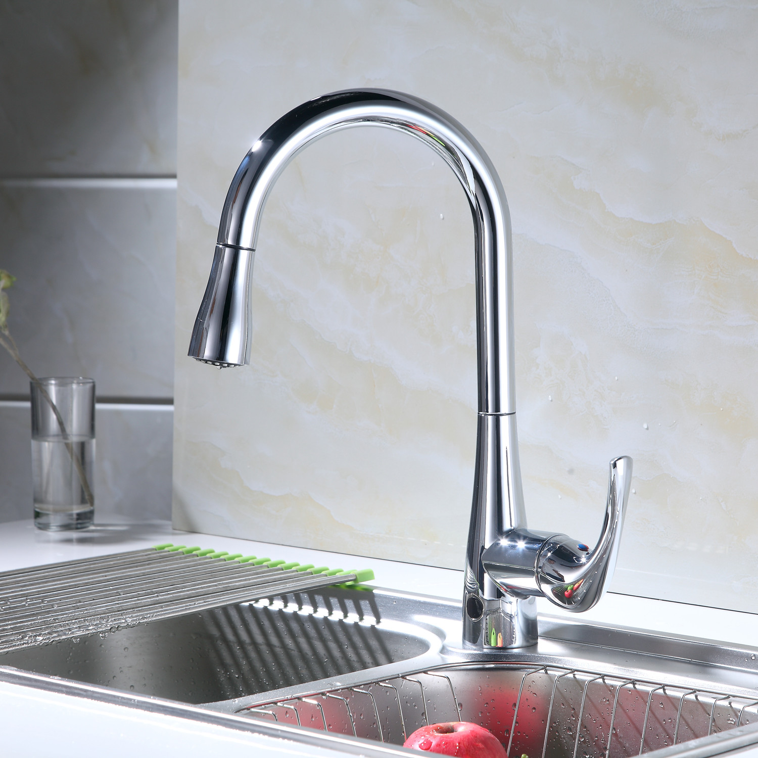 FLOW // Motion Sensor Kitchen Faucet (Oil Rubbed Bronze) - Bio Bidet ...