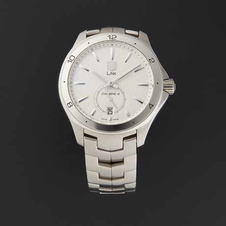 Tag Heuer Link Calibre 6 Automatic // WAT2111.BA0950 // Pre-Owned