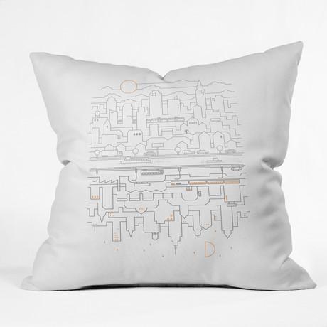 City 24 // Throw Pillow